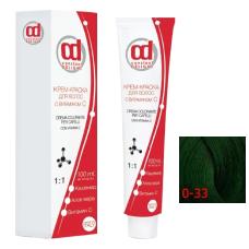 0/33 Constant Delight Крем-краска для волос с витамином С зеленый микстон, 100 мл