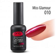 PNB, Гель-лак №010 Miss Glamour