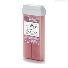 Italwax, Воск Flex в картридже, кремовая роза, 100 мл