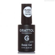 Grattol, База Экстрагустая, Extra Rubber Base, 9 мл