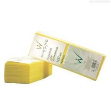 Italwax, Полоски для депиляции, желтые, 7х20 см, 1 упаковка