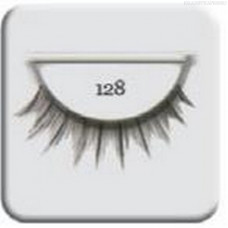 Salon Perfect, Strip lash black, Ресницы черные №128