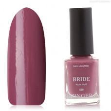 Zinger, Лак для ногтей Bride, цвет Plum cake