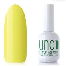 UNO, Гель-лак №003 Лимон, Lemon