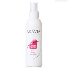 Aravia Professional, Лосьон 2 в 1 с фруктовыми кислотами, 150 мл