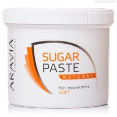Aravia Professional, сахарная паста Натуральная  (мягкой консистенции), 750 г